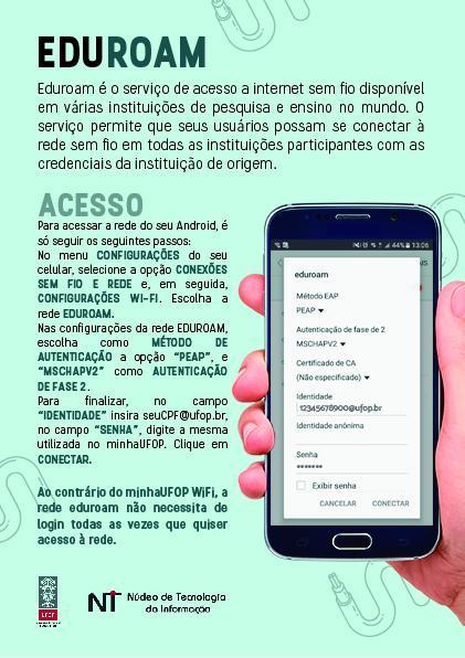 Conexão via Android