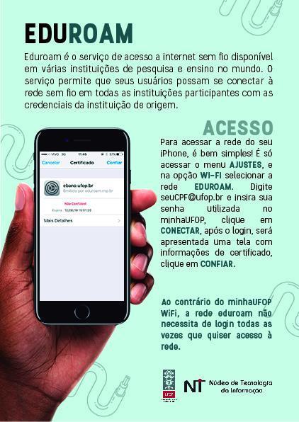 Conexão via Iphone
